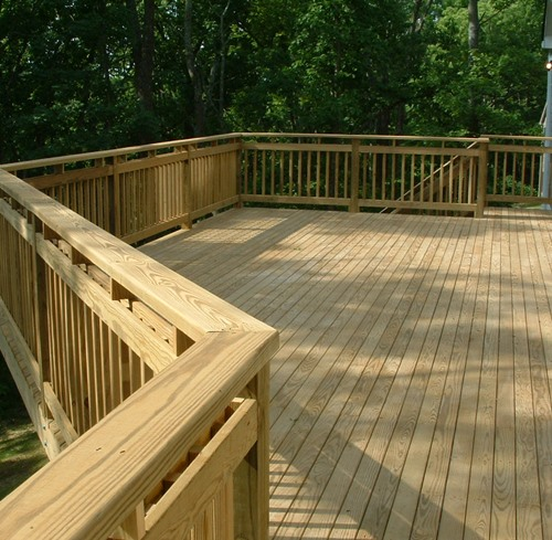 Goecker building supplies inc additional pages deck for Cost of composite decking vs pressure treated